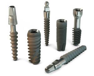Set impianti dentali